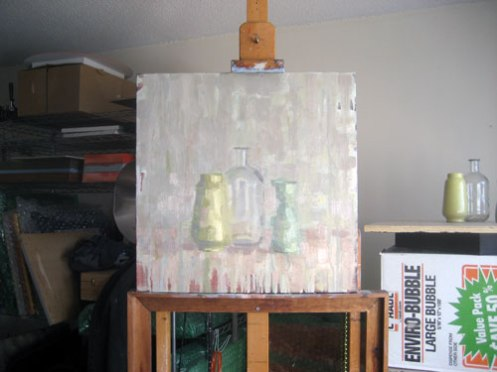 Still-Life-with-Glass-Bottle
