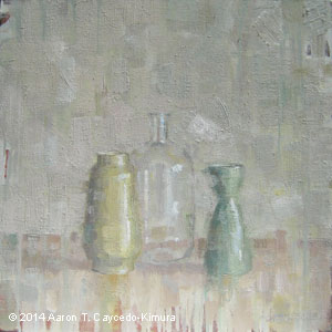 Still Life with Glass Bottle copy